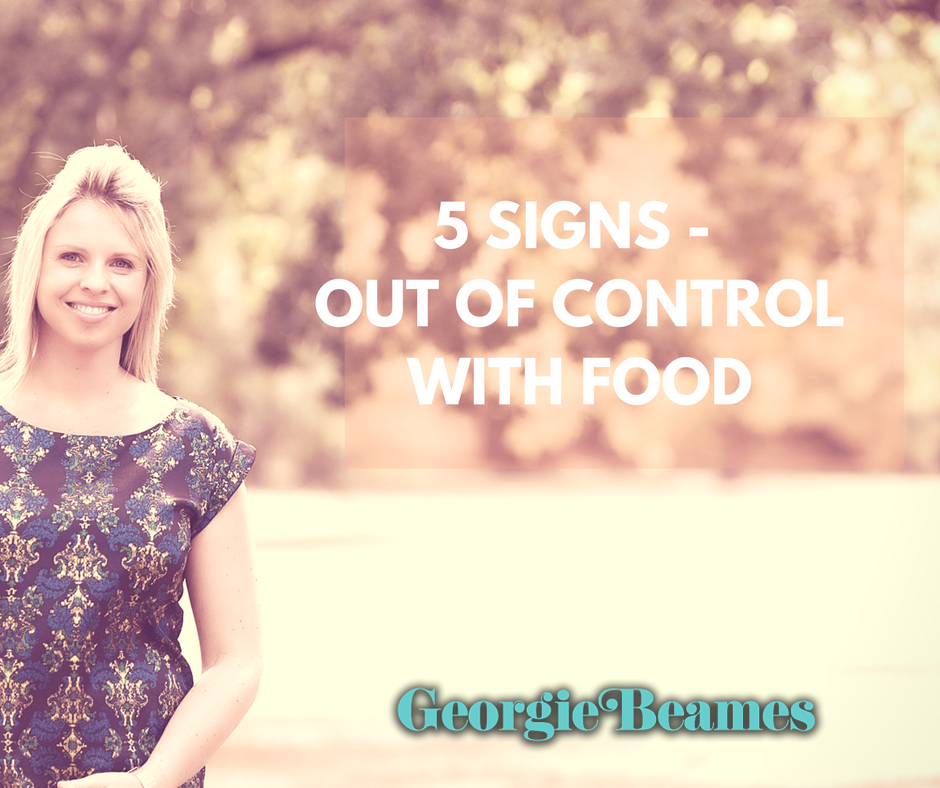 5 Signs that Lead to Being Out Of Control With Food