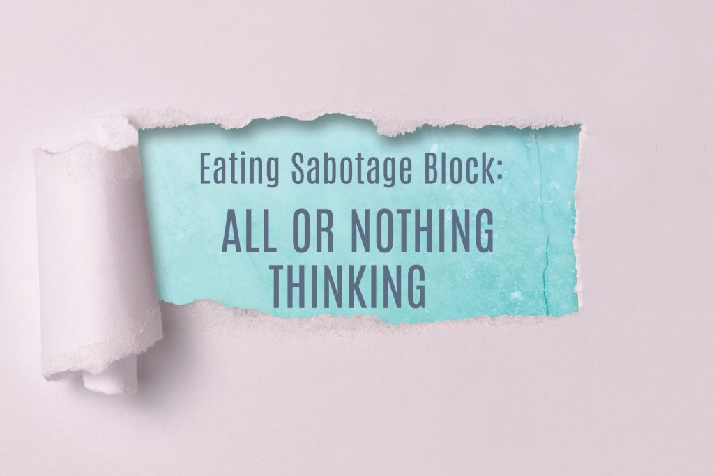 Are You Telling Yourself You Are Either Good or Bad Every Time You Eat by Georgie Beames