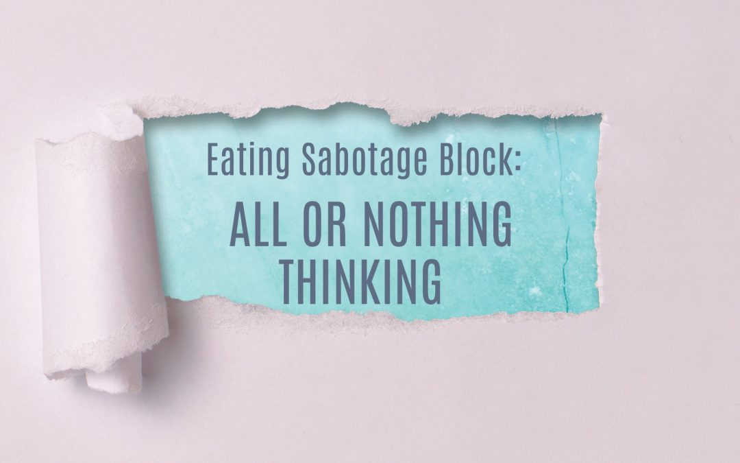 Are You Telling Yourself You're Either 'Good' or 'Bad' Every Time You Eat?
